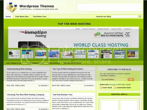 free wordpress themes 13 15 Super Featured Free Wordpress Themes