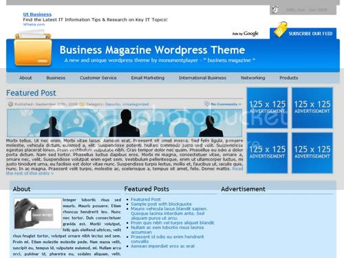 free wordpress themes 5 15 Super Featured Free Wordpress Themes