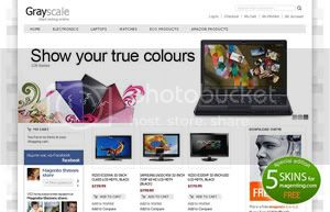 free magento theme 6 Free Magento Themes