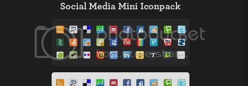 social icon 10 20+ Social Bookmarking Iconset