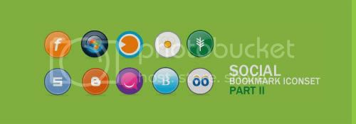 social icon 16 20+ Social Bookmarking Iconset