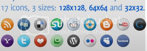 social icon 4 20+ Social Bookmarking Iconset