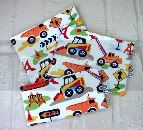 Set 3 EcoStuffers FDA Food safe Reusable Bags - Dig It