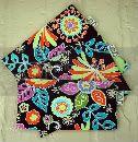 Set 3 EcoStuffers FDA Food safe Reusable Lunch Bags - Boho Chic