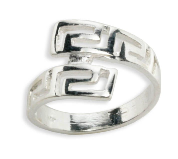 View ProductMeander-Greek Key ~ Sterling silver Ring 